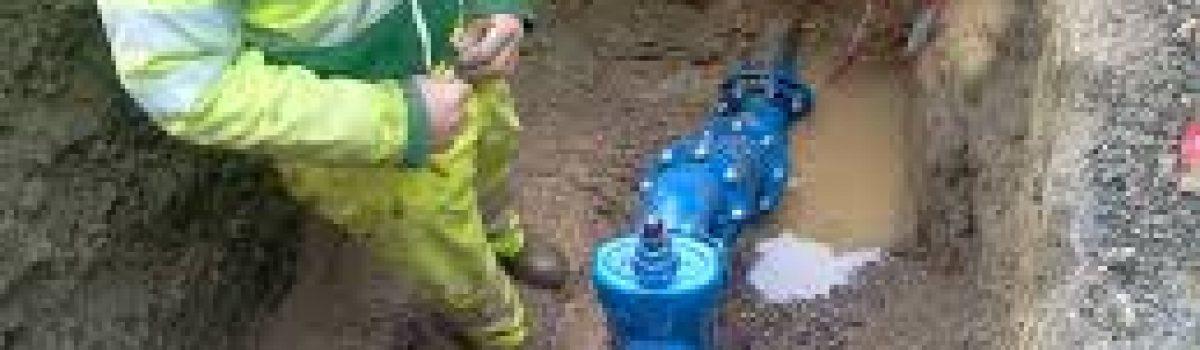 Travaux d'eau potable